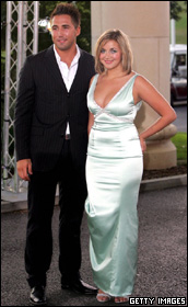 Gavin Henson and Charlotte Church.