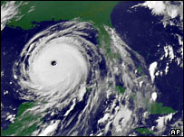 Hurricane Katrina is heading for Florida again.