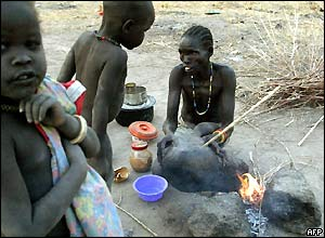 Returnees in Rumbek