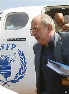 UN envoy Jan Pronk is in Rumbek