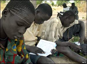 Ex SPLA child soldiers.