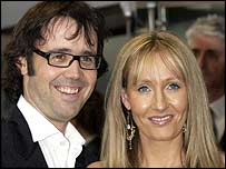JK Rowling with her husband Neil