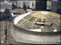 New Orleans' Superdome stadium