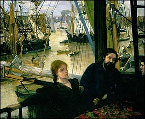 Whistler Wapping, at Tate Britain
