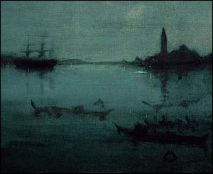 Whistler Lagoon, Venice, at Tate Britain
