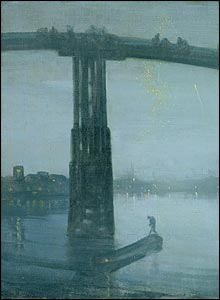 Whistler Nocturne, Battersea Bridge, at Tate Britain