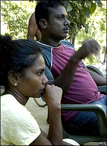 Junitha Jeyarajah and husband Murugupillai