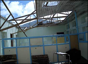 The Princess Alice district hospital near Grenville, Grenada