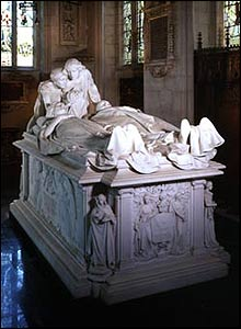 The tomb of Lord Curzon and his wife in All Saints, Kedleston, Derbyshire. Photo credit: The Churches Conservation Trust