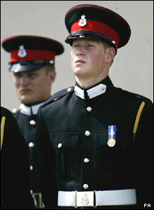 After his gap year, the Prince chose to attend Sandhurst Military Academy to begin an army career.