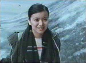 Here's Katie Leung, who plays newcomer Cho Chang