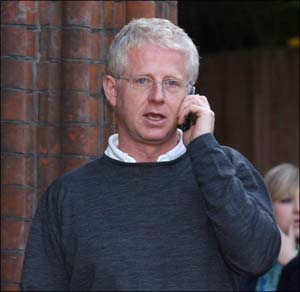 "Film writer and director Richard Curtis said: ""It's so unfair that people with the least money have the most difficulty getting an education, which would in turn help them out of poverty."""