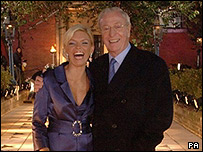 Michael Caine opened the walkway with Kate Thornton