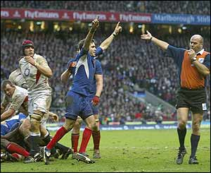 England 17-18 France