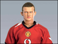 The Wayne Rooney doll
