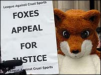 Campaigners against hunting are happy about the ban