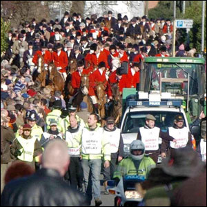 Hunt in Melton Mowbray