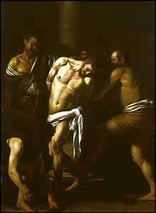 The Flagellation, (1607), Museo Nazionale di Capodimonte, Naples