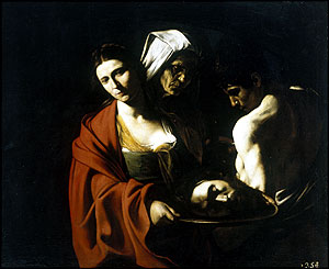 Salome with the Head of Saint John the Baptist, (1606-7), Patrimonio Nacional, Palacio Real, Madrid