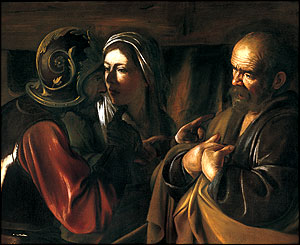 The Denial of Saint Peter, (around 1610), The Metropolitan Museum of Art, New York,