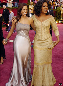Halle Berry and Oprah Winfrey