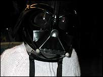 Lucy as Darth Vader