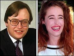 David Mellor and Antonia de Sancha