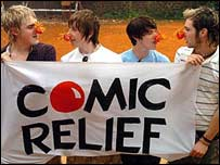McFly in Africa for Comic Relief
