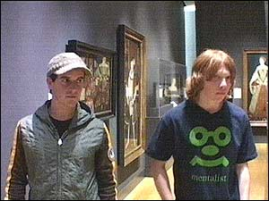 No - Rupert's in fighting spirit. See the look of determination in his eyes. Dom is looking scared...