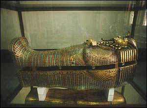 Tutankhamun's coffin