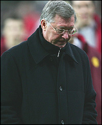 Heartache for Alex Ferguson