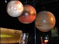 An interactive planetary display