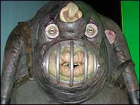 A Vogon from Hitchhiker's Guide to the Galaxy