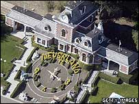 Michael Jackson's Neverland home