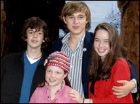 Stars of the new Chronicles of Narnia film