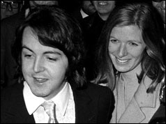 Paul McCartney and Linda Eastman