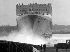 QE2 is launched