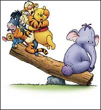 Character From Winnie The Pooh - Heffalump 1