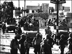 Israeli troops enter Gaza - 7 June 1967
