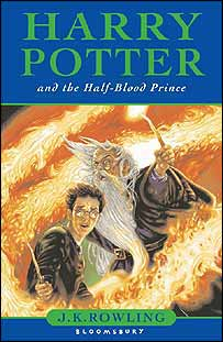 The children's cover for Harry Potter and the Half-Blood Prince