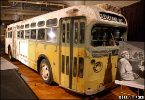 The bus is now in the Henry Ford Museum, Montgomery, Alabama.
