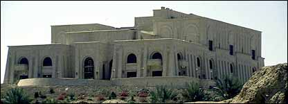One of Saddam Hussein's palaces in Iraq