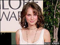 Queen Amidala actress Natalie Portman