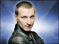 Christopher Eccleston in Dr Who