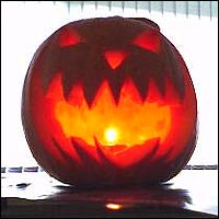 Then we got jealous at Newsround Online and sent in a pic of our very own pumpkin!