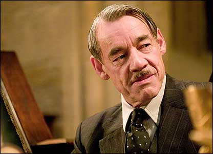 Roger Lloyd-Pack as Barty Crouch Senior