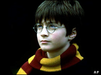 Harry Potter as he looked when he first came on the screen.