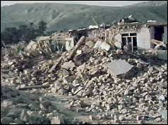 Iran earthquake aftermath