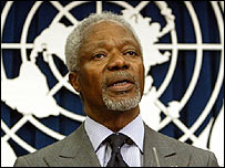 United Nations Secretary Kofi Annan