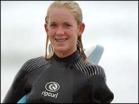 Bethany Hamilton lost her arm in a shark attack